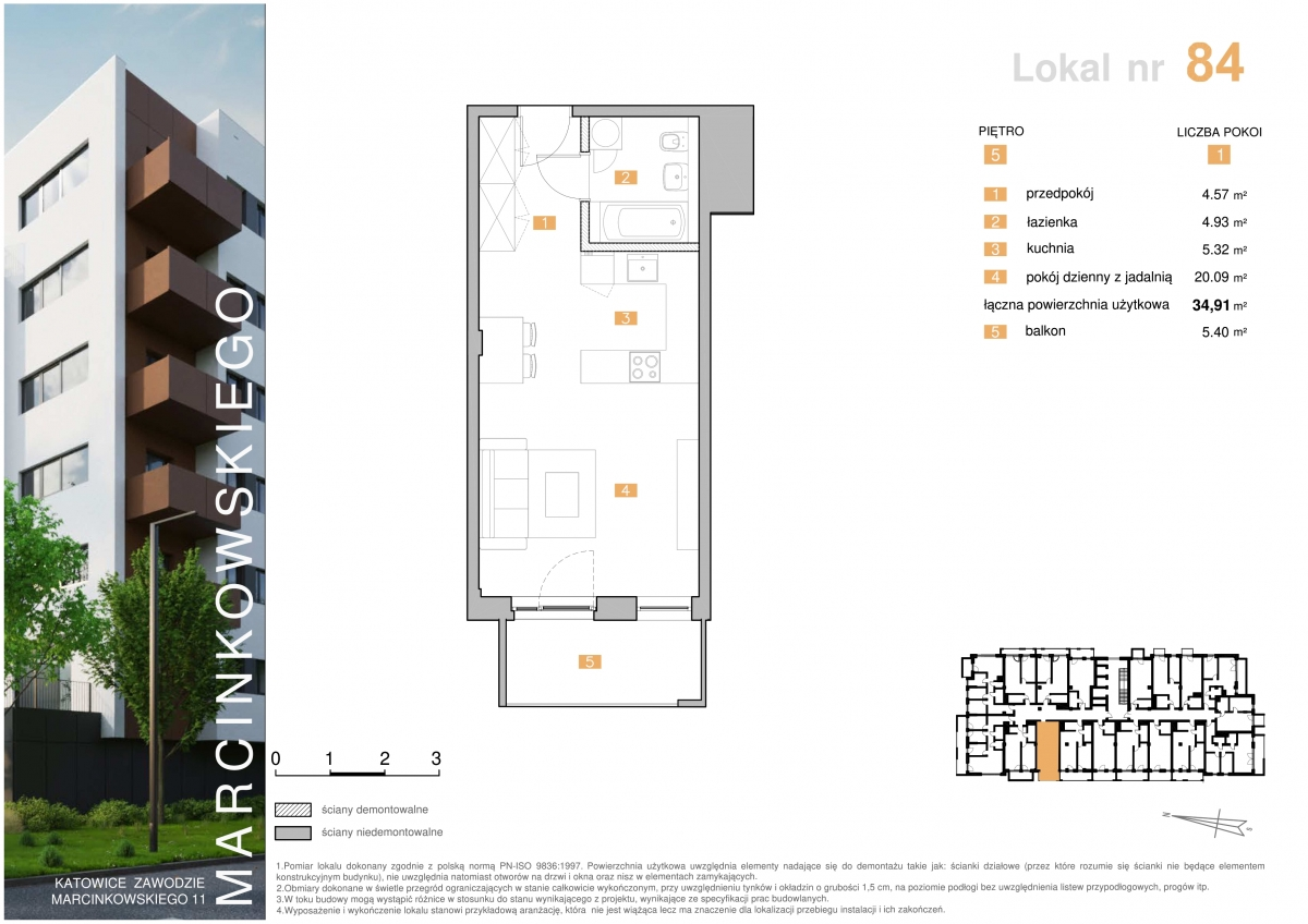 Mieszkanie 084 - 34,91 m2