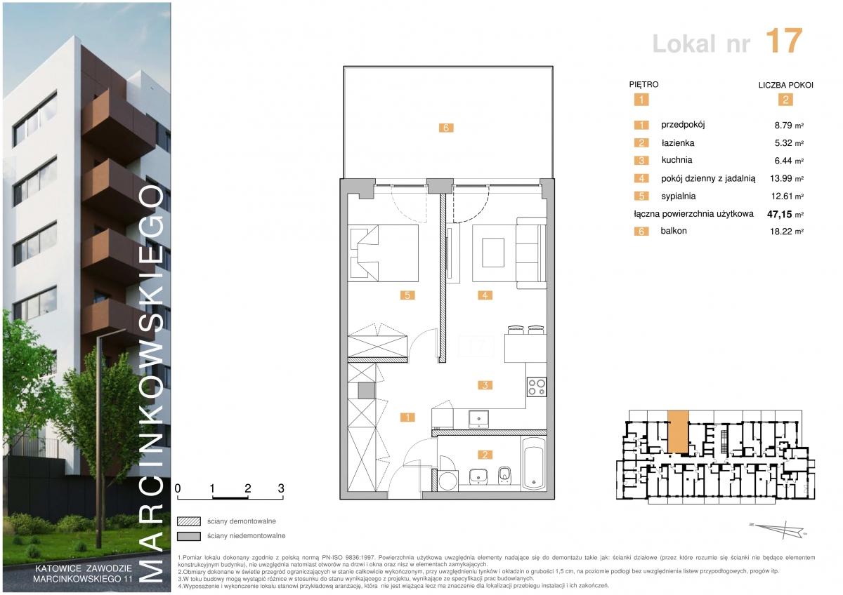 Mieszkanie 017 - 47,15 m2